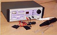 Аппарат для местной  дарсонвализации и гальванизации АмДГ- «ИСКРА-4»