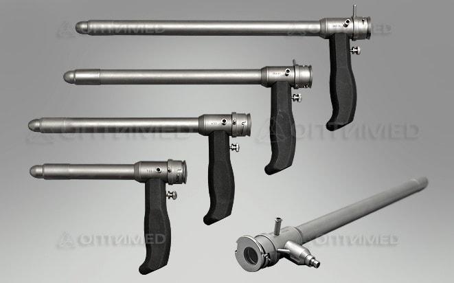 Ректоскопическая система с инструментами
