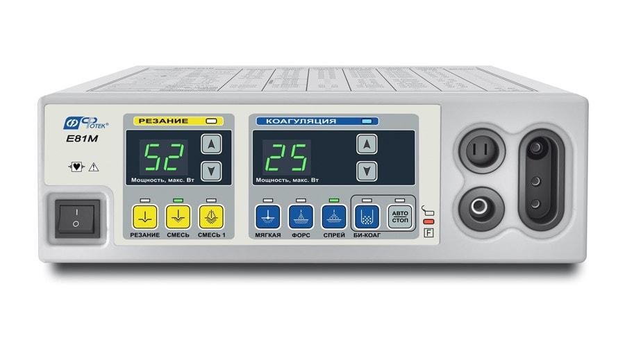 Е81М-КМ2 Аппарат электрохир-кий высокочастотный ЭХВЧ-80-03