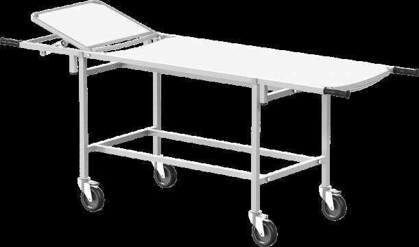 Тележка для перевозки больных со съемной панелью